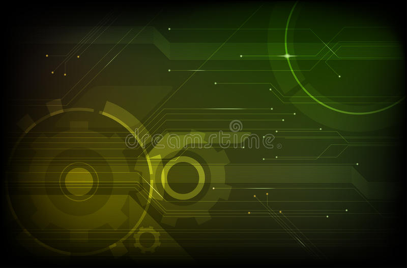 Abstract Modern Technical Background Stock Photos