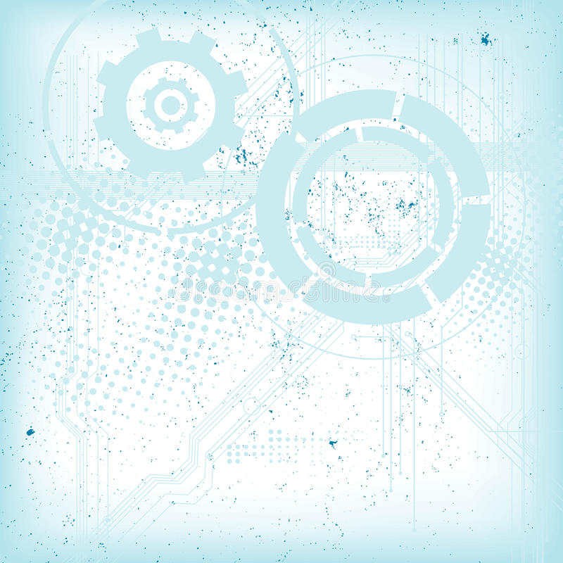 Download Abstract Modern Technical Background Stock Image - Image: 27978451