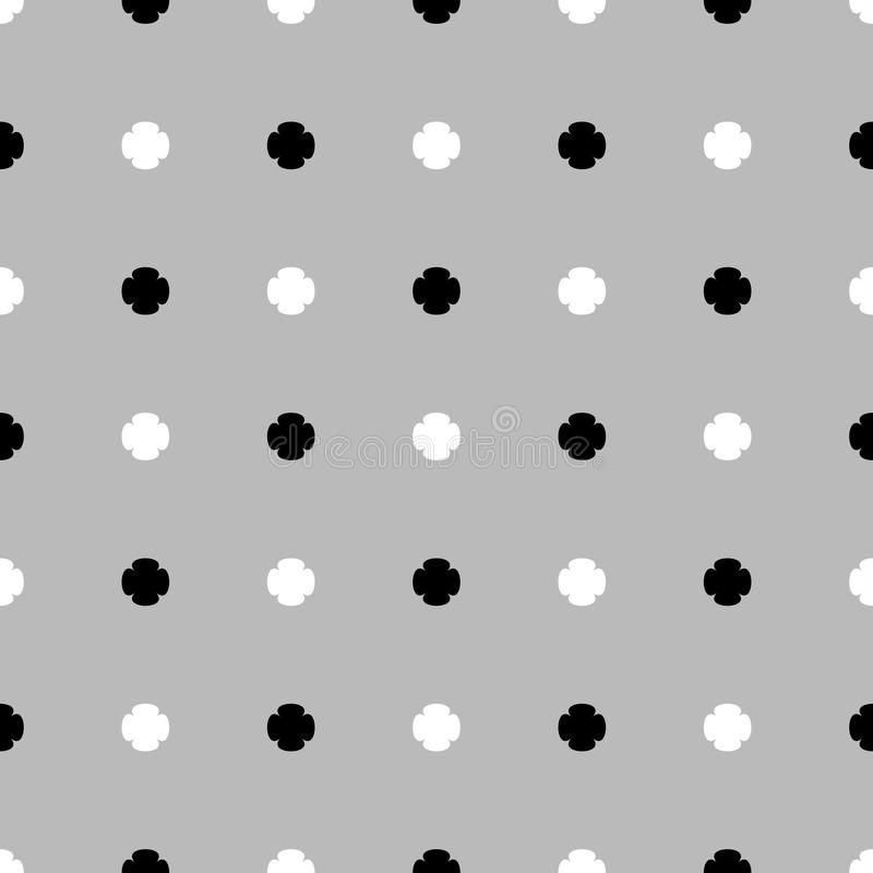 Abstract monochrome background, pattern. Seamlessly repeatable. Vector. - Eps 10 Vector Illustration vector illustration