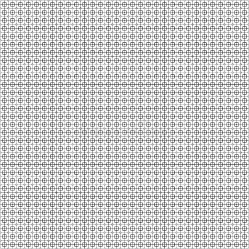 Abstract Monochrome Black Fence Mesh Fabric Texture Background Seamless Pattern Vector Illustration vector illustration