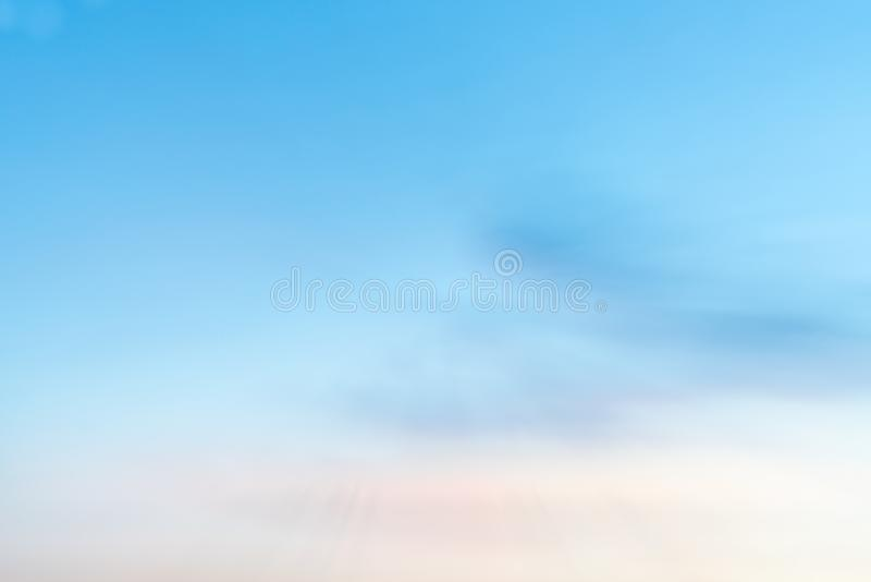 Morning sky graduated colors background. Abstract morning sky colors blue and gold for conceptual and backgrounds royalty free stock photos