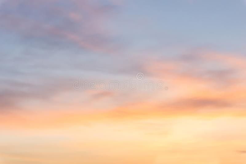 Morning sky graduated colors background royalty free stock photo