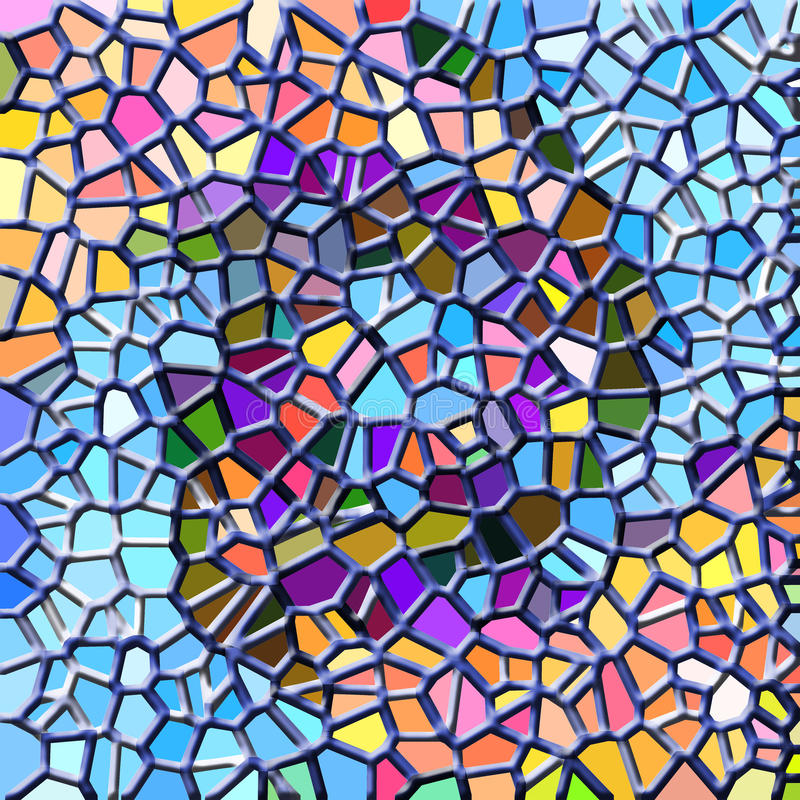 Download Abstract mosaic stock illustration. Image of cement, stone - 10336784
