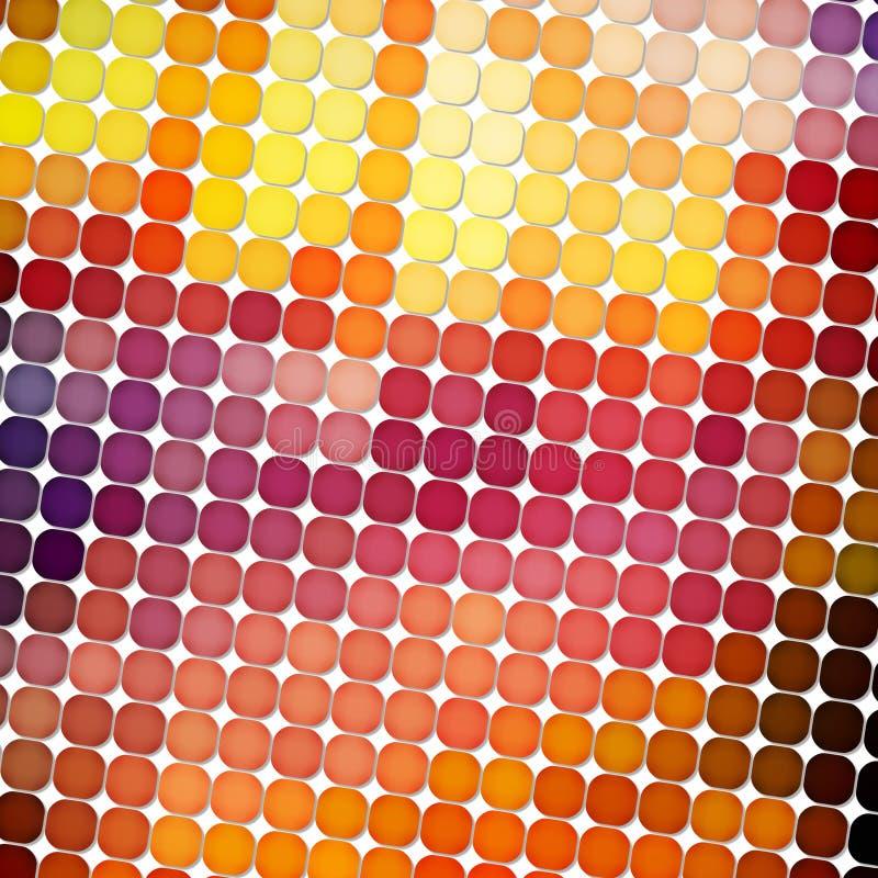 Mosaic background stock illustration