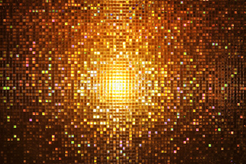 Abstract Mosaic Night Style Royalty Free Stock Photo