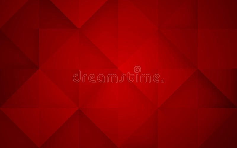 Abstract mosaic red background. Vector Illustration. Clip-art royalty free illustration