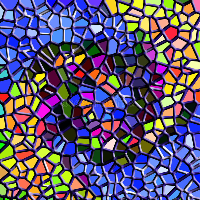 Abstract Mosaic Texture Royalty Free Stock Images
