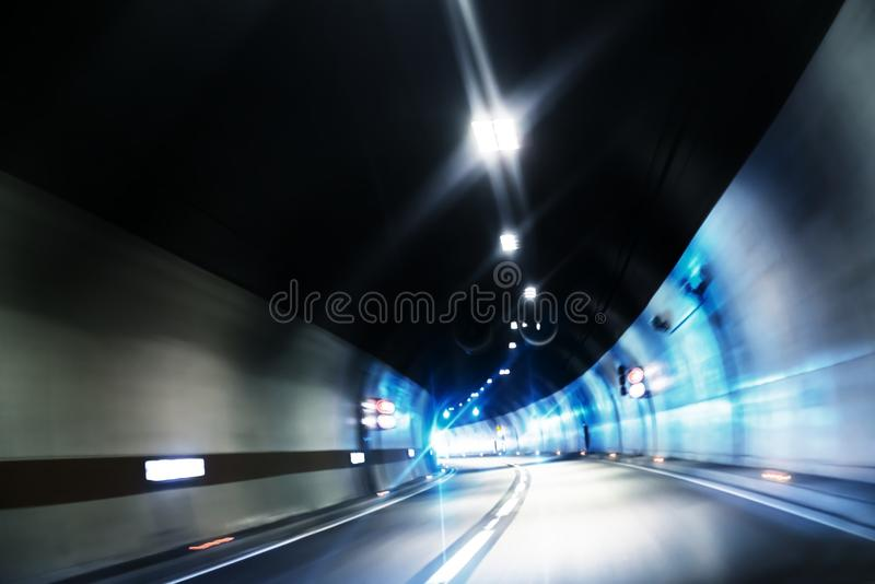 Abstract motion background with colorful lines. Angle shot royalty free stock photo