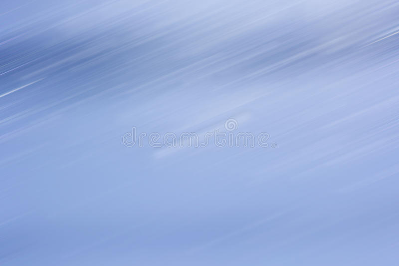 Abstract motion background. White line and blue abstract motion background stock image