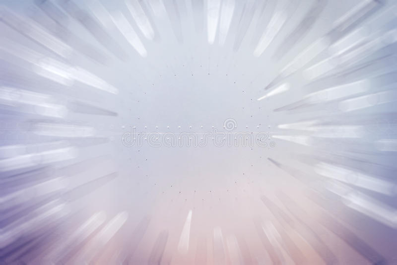 Abstract motion background. Zoom blurred stock photo