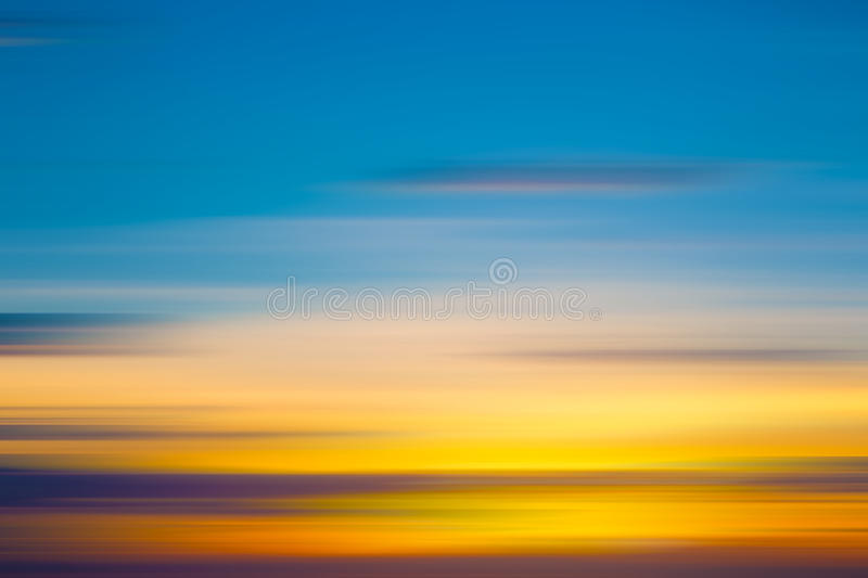 Abstract motion blur background. Of twilight sky stock photos