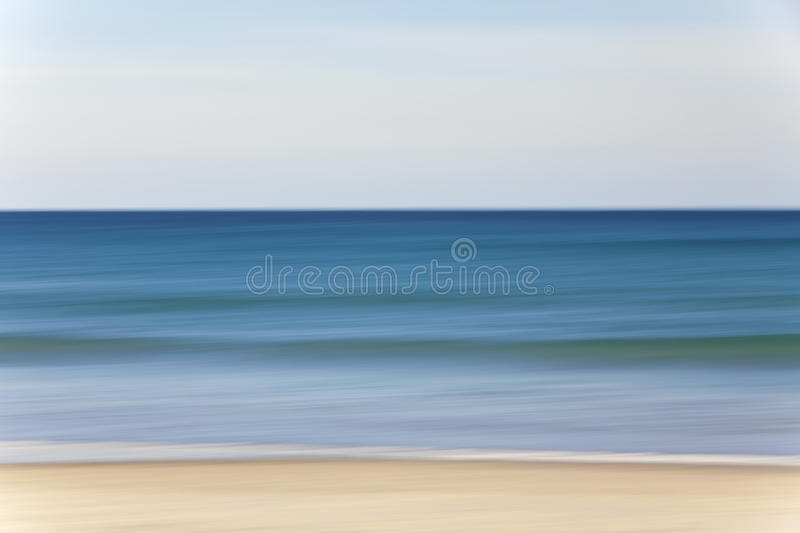 Download Abstract Motion Blur Beach And Sea Background Stock Image - Image: 19466087