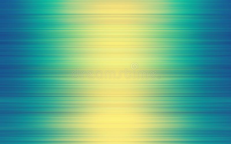 Abstract Motion Blurred Yellow Green Blue Gradient Background vector illustration