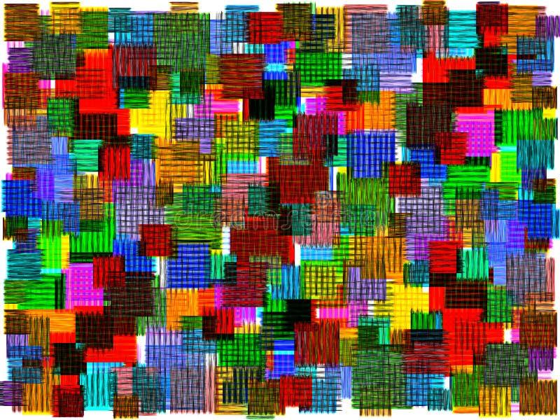 Abstract mottled fiber mat royalty free stock photos