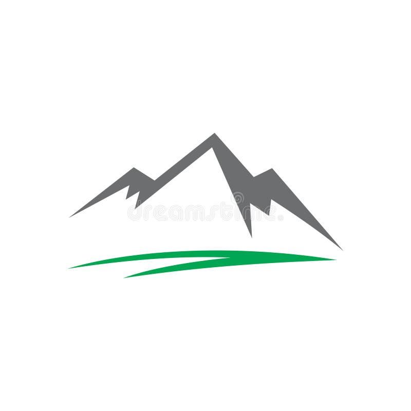 Abstract Mountain Logo royalty free stock photography