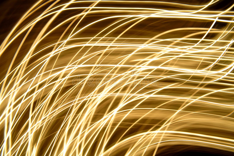 Abstract moving lights royalty free stock photos