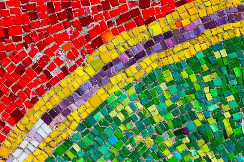 Abstract Mozaïek stock afbeelding