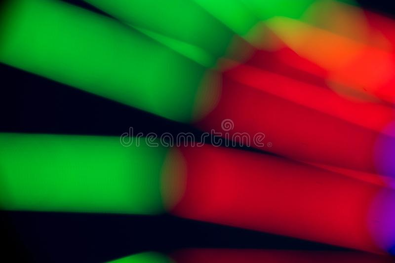 Abstract multi color of fluorescent stock image