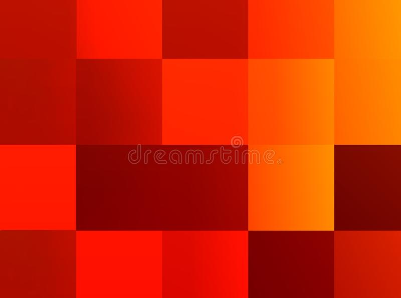 Abstract multi colored background stock illustration