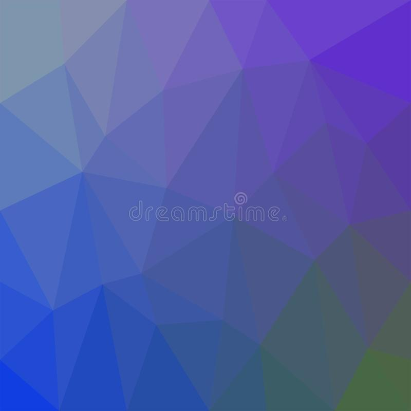 Abstract multicolor background. Vector polygonal design illustration graphic royalty free illustration