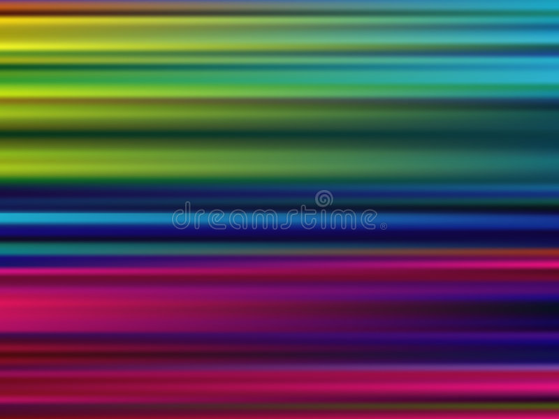 Abstract Multicolor Motion Blur Background. (Vector