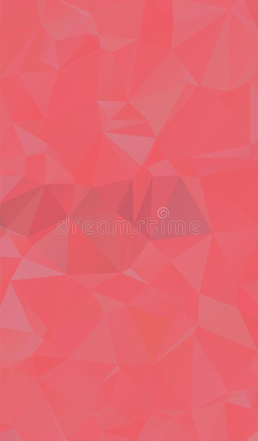 Abstract multicolor Orange and red background. Vector polygonal design illustrator. Eps.10 royalty free illustration