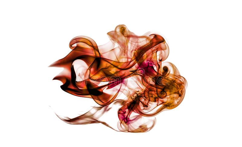 Abstract Colorful Artistic Powerful Smoke Effect vector illustration