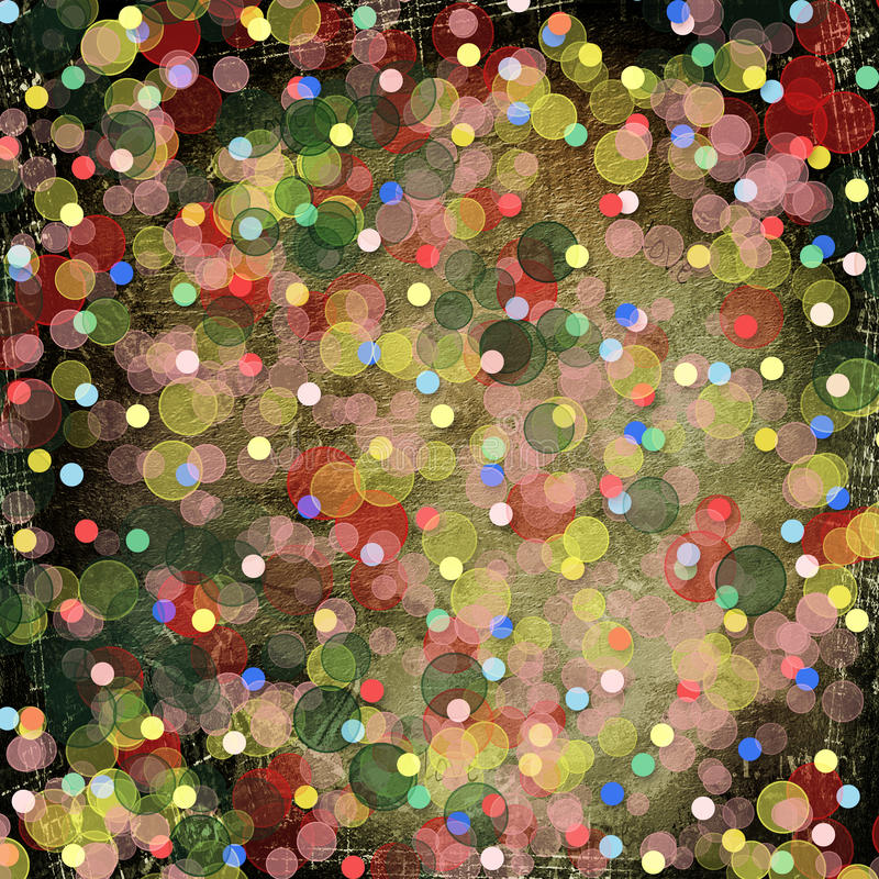 Abstract multicolored background with blur bokeh royalty free illustration