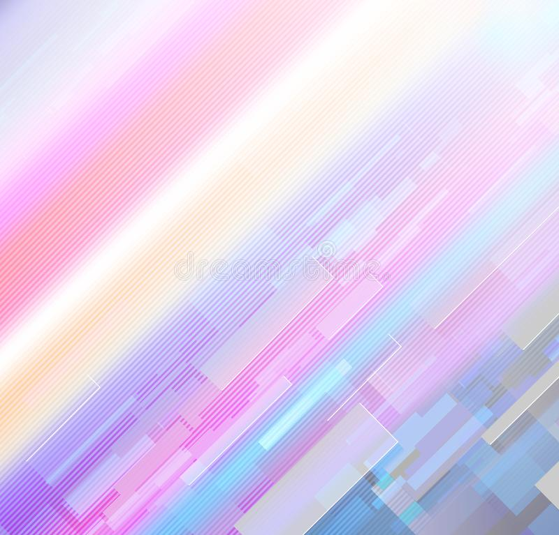 Colorful rainbow in purple and violet tones royalty free stock photos