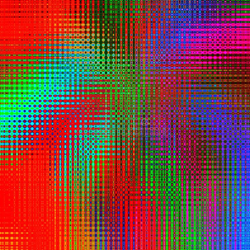 Abstract multicolored background, mosaic effect, digital illustration, royalty free illustration