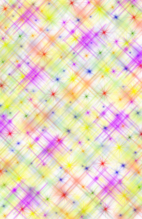 Free Abstract Multicolored Background With Stars Royalty Free Stock Photo - 10112535