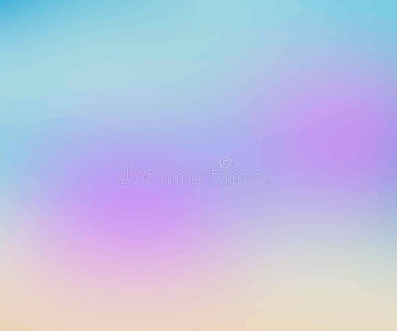Abstract multicolored blurred background. Creative concept vector. Template for poster, flyer and presentation, banner, web and mo royalty free illustration