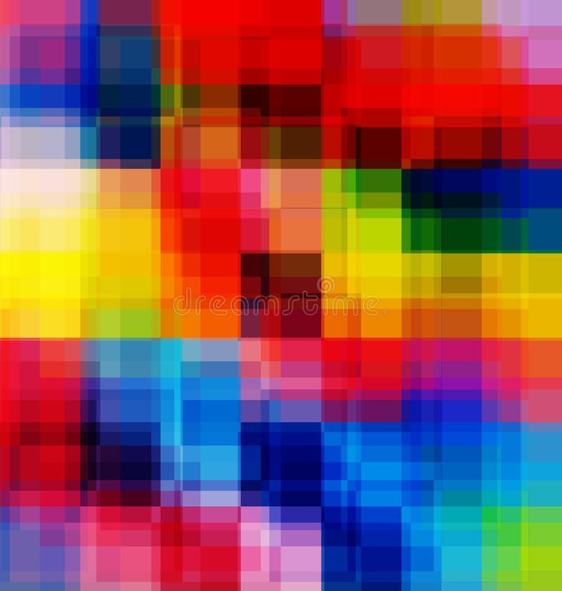 Abstract multicolored overlay background royalty free illustration