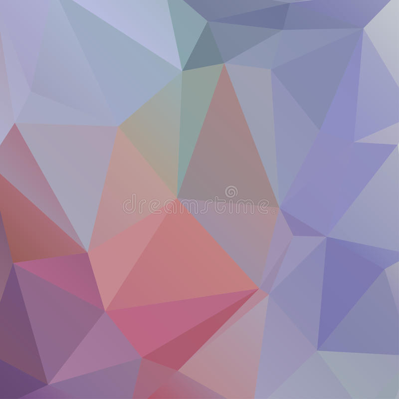 Abstract multicolored polygonal background. royalty free illustration