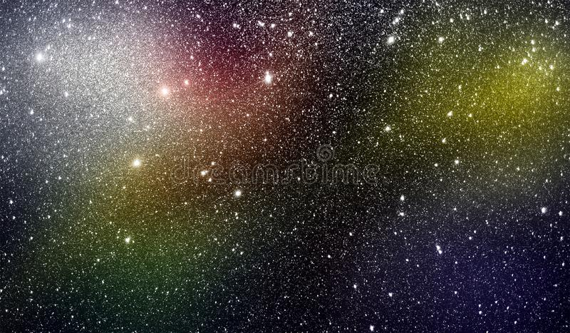 Abstract multicolored shaded glitter textured background with lighting effects. background, wallpaper. stock images