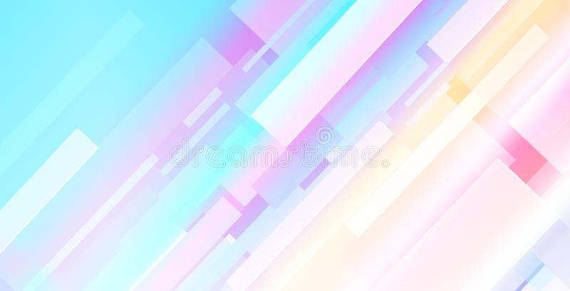 Abstract multicolored thema als achtergrond met rechthoekenvormen royalty-vrije stock foto