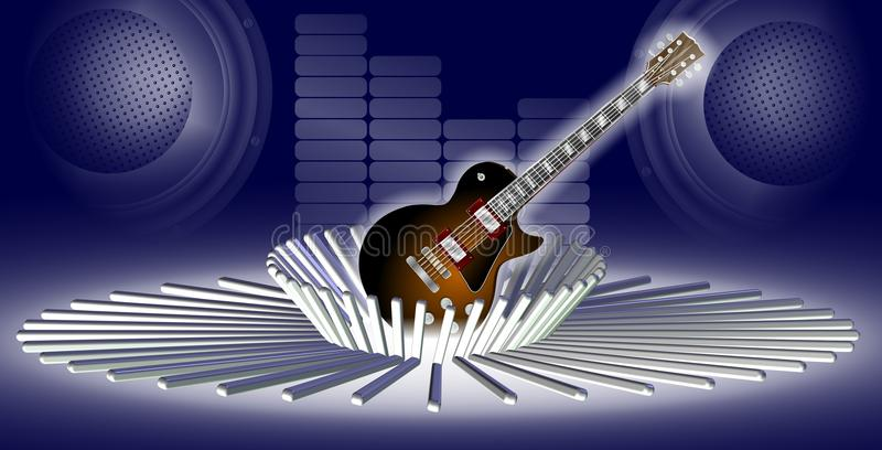 Download Abstract music stock illustration. Image of instrument - 22081485
