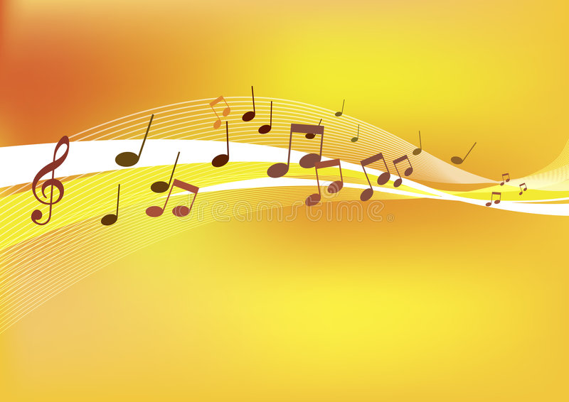 Download Abstract Music Background. stock illustration. Image of pattern - 3825859