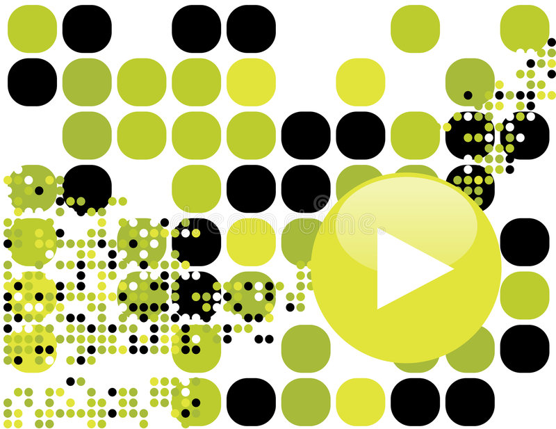 Download Abstract music background stock vector. Image of beat - 4107899