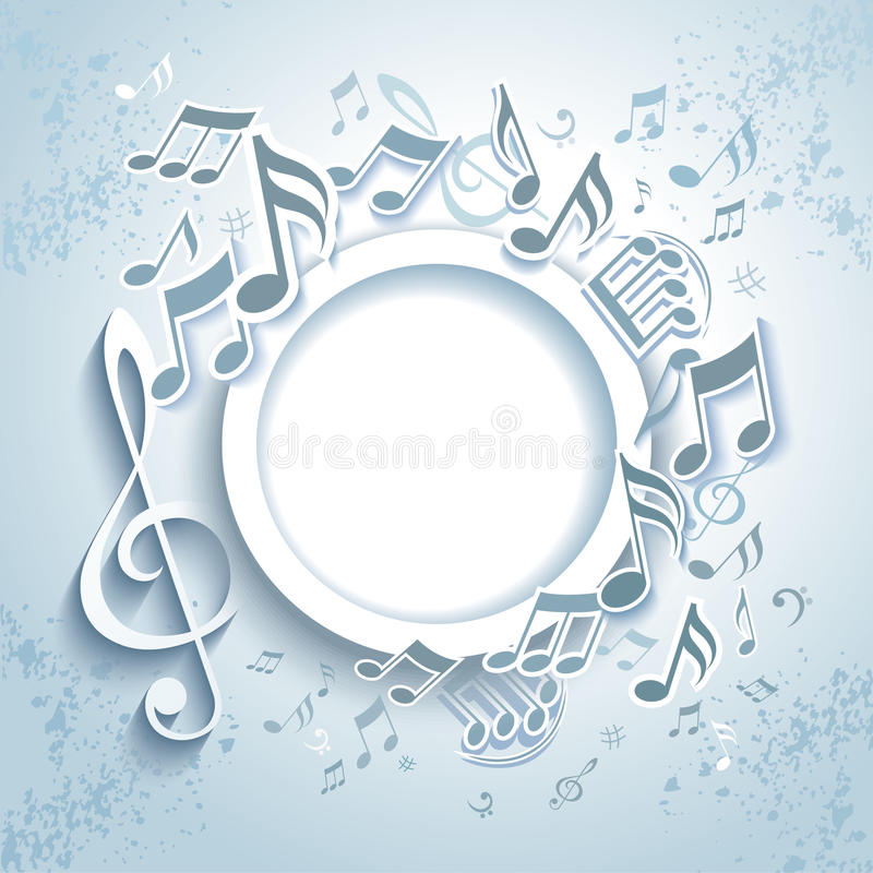 Download Abstract Music Frame. Stock Photo - Image: 28942460