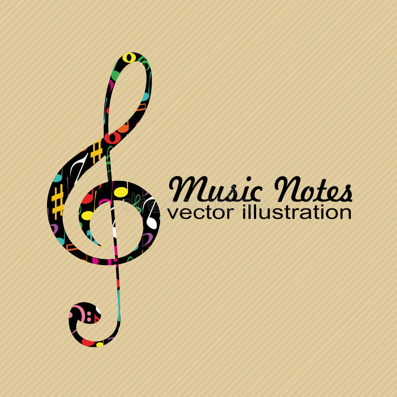 Download Abstract Music Note Stock Photo - Image: 32166230
