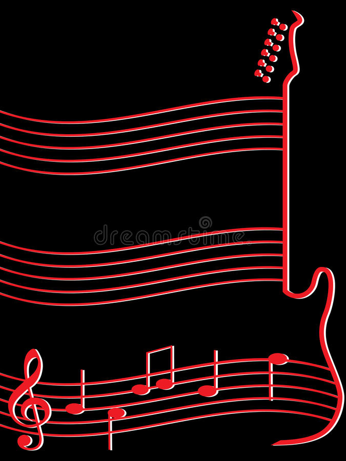 Download Abstract Musical Background Stock Vector - Image: 14156649