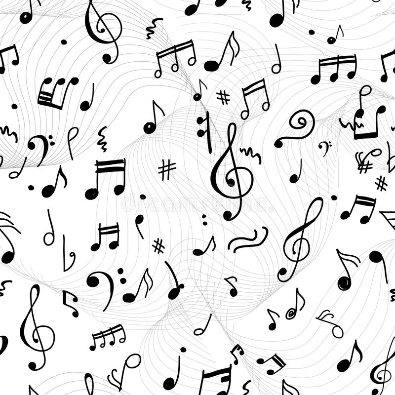 Abstract musical pattern