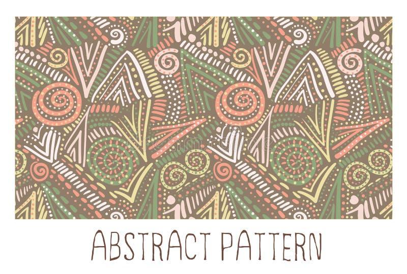 Abstract Naadloos Geometrisch Patroon stock afbeeldingen