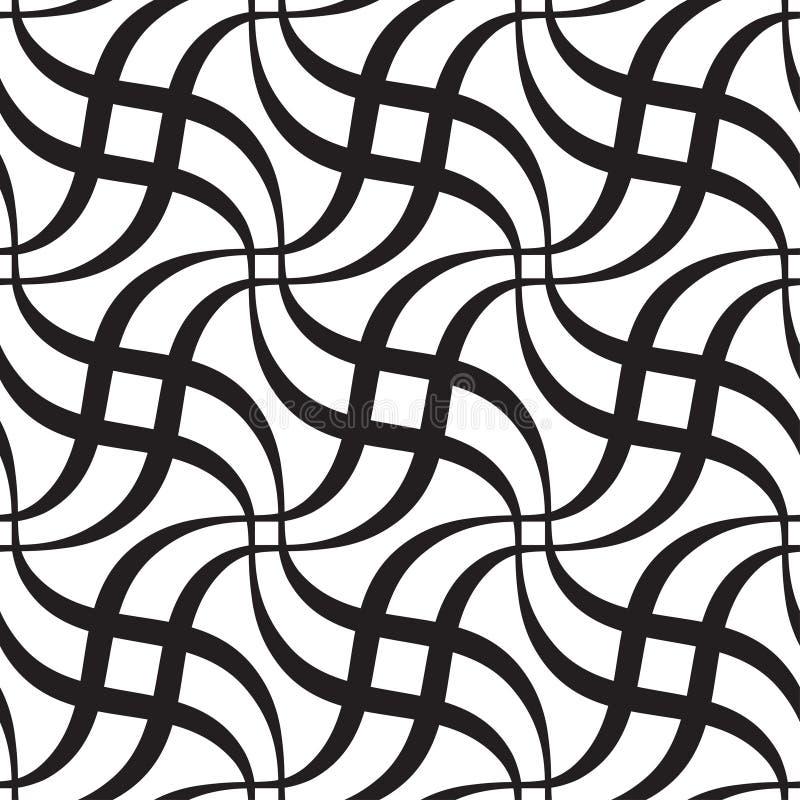 Abstract Naadloos Patroon royalty-vrije illustratie