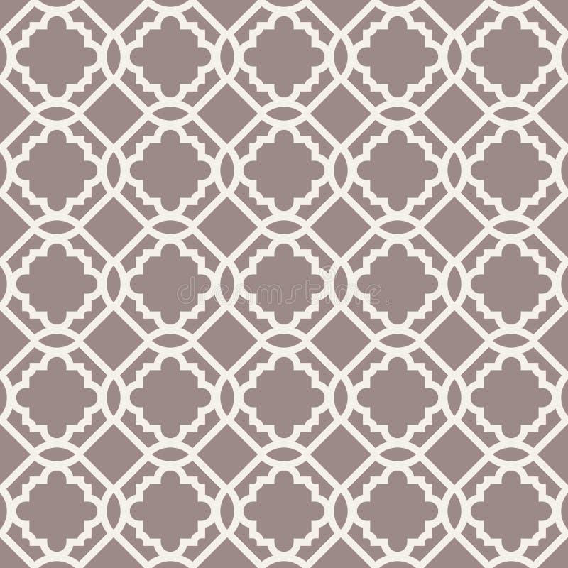 Abstract naadloos patroon. royalty-vrije illustratie