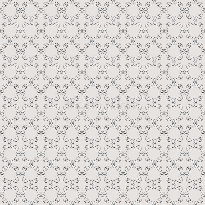 Abstract Naadloos Patroon stock illustratie