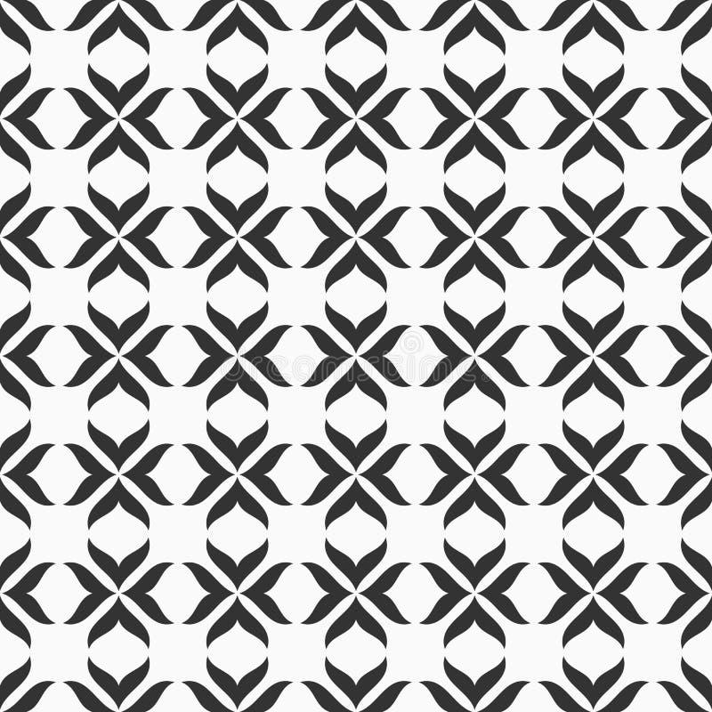 Abstract naadloos vectorpatroon moderne modieuze textuur royalty-vrije illustratie