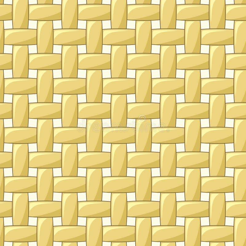 Abstract naadloos wevend patroon royalty-vrije illustratie