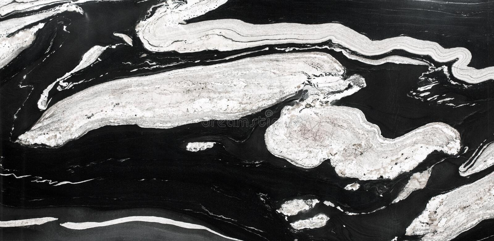 Abstract natural granite black and white for design. stock photos